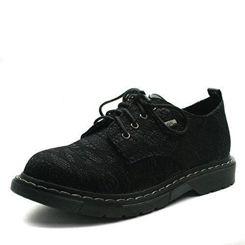 Miss Sixty Miss Sixty MS031 Laceup Derby Shoe Low for Girls in Black Lace Effect Größe 36