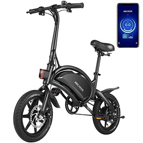 ANCHEER 350W/500W motor 20MPH Folding Electric Bike