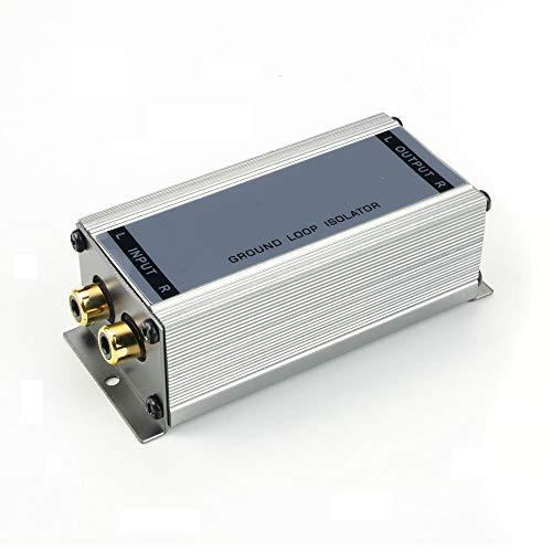 maxxcount Premium Entstörfilter Massetrennfilter (2-Kanal / Cinch) NF-Trennübertrager | Ground Loop Isolator | Mantelstromfilter | Stereo-Line-Übertrager