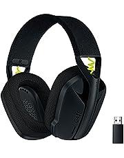 Logicool G ロジクール G ゲーミングヘッドセット G435 LIGHTSPEED & Bluetooth ワイヤレス ヘッドセット/軽量 165g / 内蔵マイク / 18時間連続使用 / Dolby Atmos対応/PC PS4 PS5 スマホ 対応 G435BK 国内正規品