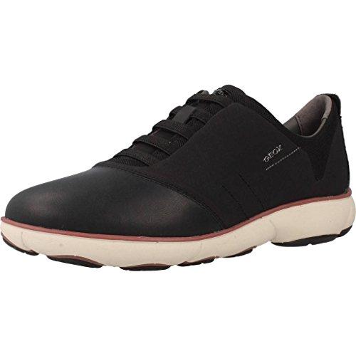 Geox Geox D NEBULA G, Damen Low-top Sneakers, Schwarz (BLACKC9999), 41 EU