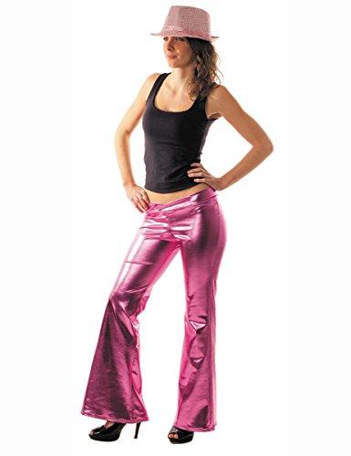 Party Pro 8650510 Rose Disco Pantalon, Multicolore