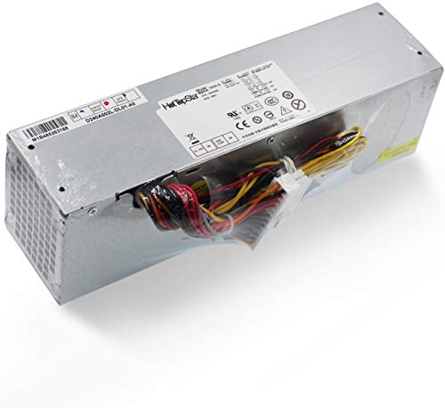HotTopStar Unidad de Fuente de alimentación de Escritorio 240W para DELL OptiPlex 390 790 990 3010 7010 9010 (Factor de Forma pequeño) SFF Systems H240AS-00 AC240AS-00 L240AS-00 H240ES-00 H240ES-00
