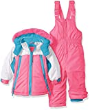 Wippette Girls Baby Girls & Toddler Insulated Snowsuit, Colorblock Knockout Pink, 12M
