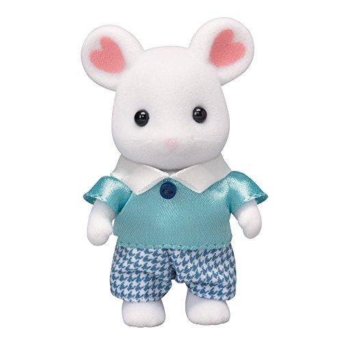 シルバニアファミリー 人形 マシュマロネズミの男の子 ネ-105