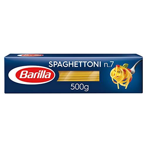 Barilla Hartweizen Pasta Spaghettoni n. 7 – 8er Pack (8x500g)