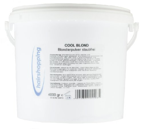 hairshopping Cool Blond (4 kg Eimer) - Blondierpulver