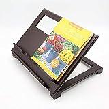 Keck und Lang verstellbare Buchstütze aus Holz – Perfekt nutzbar als Kochbuchständer, Rezepthalter oder Tablethalter - 4
