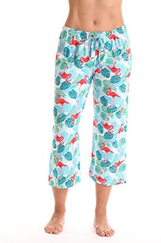 Just Love Womens Pajamas Cotton Capri Pants 6331-10385-1X