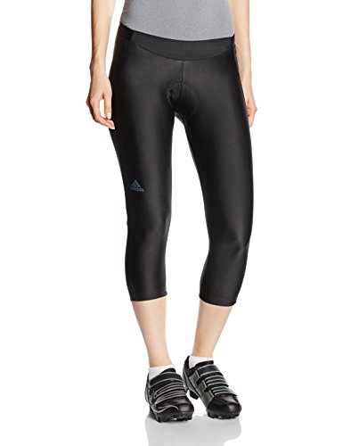 adidas Cycling Damen Radhose response plura 3/4 tgt, black, XS