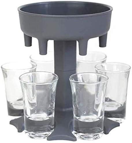 cureture 6 Schnapsglas Spender Halter Trinkspiele Schnapsgl/äser Get Party Started Fast Weinglas Spender Glass Dispenser Holder Drinking Games Shot Glasses Fast Wine Glass Dispenser
