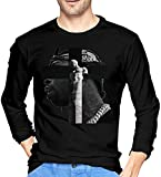 Photo de Rjsgdfjhs Pop Smoke Classic Men's Long Sleeve Shirt Black,Medium
