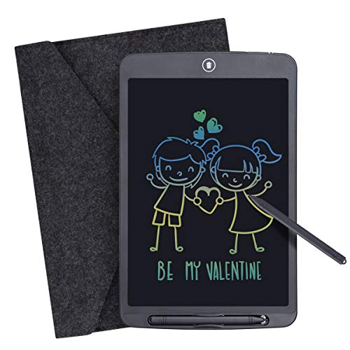 LCD Writing Tablet, 12 Inch Digital eWriter Colorful Screen Electronic Graphics Tablet Portable Mini Writing Board Handwriting Doodle Pad Drawing Tablet Memo Notebook for Kids Adult Home School Office