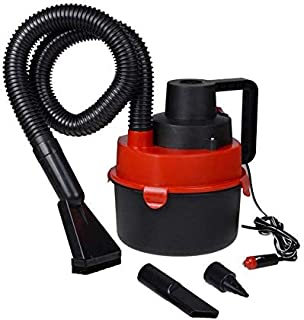 Wet & Dry Canister Car Vacuum Cleaner 12V Black Red