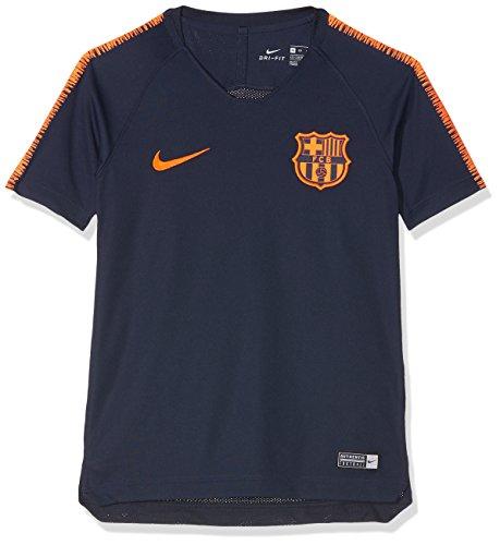 Nike FC Barcelona Breathe Squad Haut de Football à Manches C