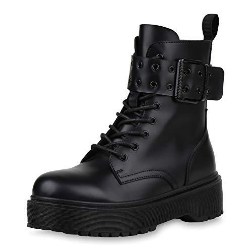 SCARPE VITA Dames Laarzen Plateau Laarzen Schilderen Veters En Zool Schoenen Veters Plateauzolen Boots-Met-Veters