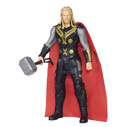 Marvel Avengers Age of Ultron Titan Hero Tech Captain Thor Figur (Englische Sprache)