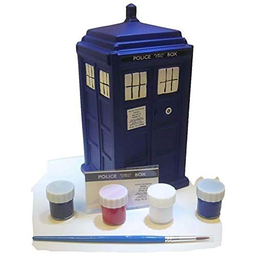 Doctor Who - Tirelire Paint Your Own Tardis