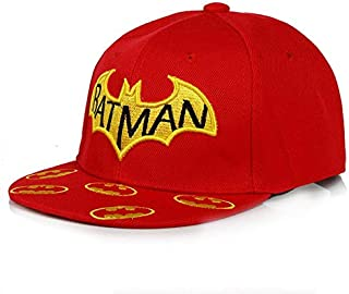 Red Cotton Baseball Hat For Kids