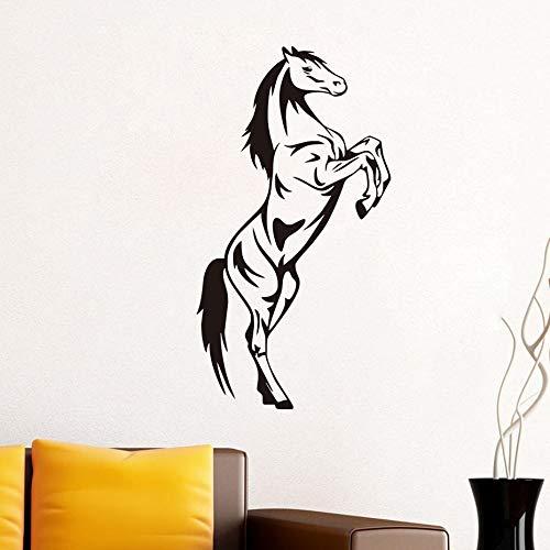 Tianpengyuanshuai Gebogen muursticker dier muursticker vinyl zelfklevend behang kinderen woonkamer decoratie
