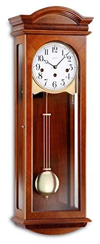 Kieninger 2633-41-01 Pendeluhren Wanduhren klassisch Regulateure Mechanische Uhren Kirschbaum
