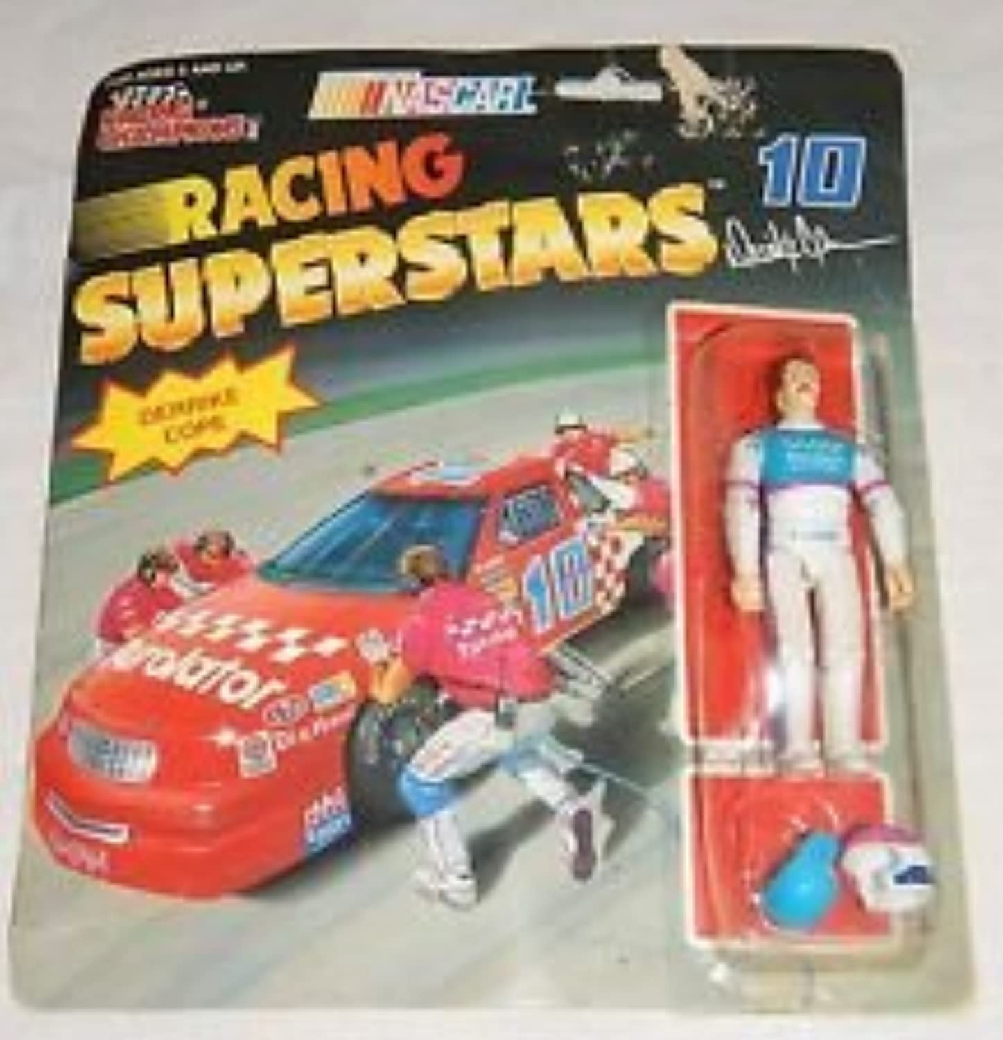 Racing Champions  10 Racing Superstars fully poseable Derrike Cope by Racing Champions
