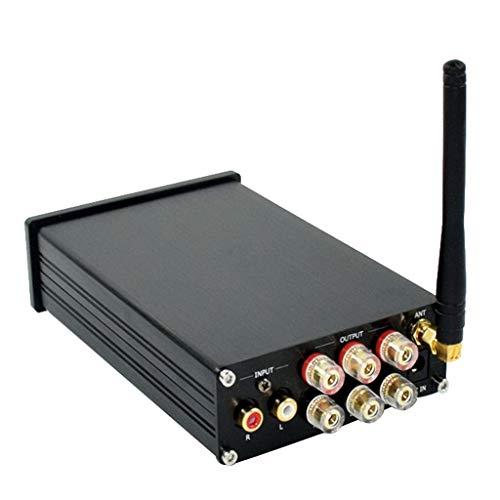 KESOTO 2.1 Amplificador De Potencia De Audio Bluetooth Hi-Fi Amplificador Integrado De Clase D para Parlantes Domésticos 75Wx2 Y 150Wx1 (300W) con Control De