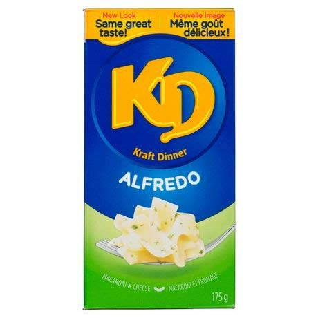 Kraft Outlet sale feature Dinner Alfredo Macaroni Fresno Mall Cheese 175g {Imported f 6.17oz