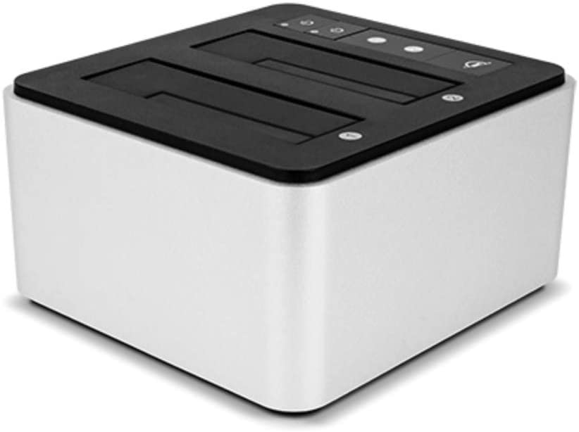 OWC Drive Dock USB-CDual Drive Bay Solution, USB 3.1 Gen 2, for Mac and PC, (OWCTCDRVDCK)