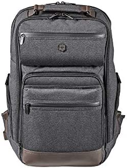 Victorinox Architecture Urban Rath Laptop Backpack Grey Brown 18 1 inch product image