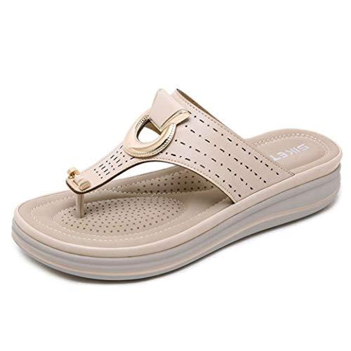 Sandales d'été pour Femmes avec Plateforme et Sandales à Talons Hauts