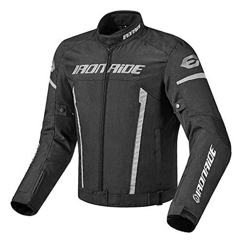 Men's Motorbike Motorcycle Jacket Moto Clothing Cargo Jacket Waterproof - XL