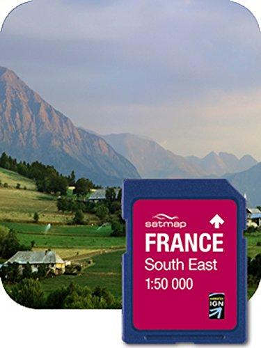 Satmap Carte: France Sud-Est 1:50k