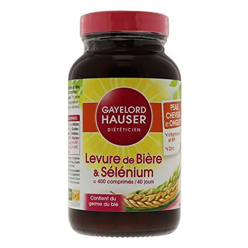Gayelord Hauser Levure de Bière et Sélénium - Peaux, Cheveux et Ongles - 1 pot 160 g
