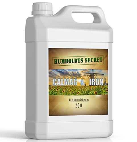 Humboldts Secret Calcium, Magnesium and Iron Supplement – Hydroponic Supplies – Liquid Nutrient Fertilizer – Treats Plant Deficiencies – Supports Vegetative and Flowering Stage – 1 Quart