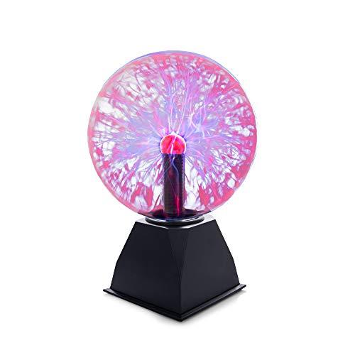 Lumière de Boule de Plasma Lampe Plasma Boule Magique Lampe de Boule de Plasma pour Les Décorations La Chambre à Coucher la Maison et les Cadeaux Eclairage Spécial Lampes d'ambiance (20x28 cm)