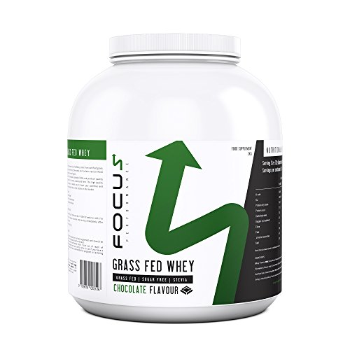 FP Grass Fed Whey Protein Powder   Low Calorie & Low Carb Protein Shake for Post Gym Workout & Muscle Building   No Artificial Sugars or Sweeteners   80 Servings, 2KG (Chocolate)