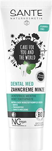 Sante Naturkosmetik Dentifrico Menta Sin Fluor 75 ml 500 g