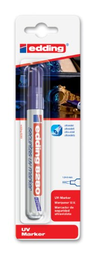 Edding 8280 UV - Rotulador permanente trazo medio