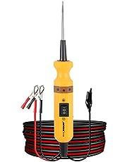 AUTOOLBT160 Elektrische Circuit Systeem Diagnostic Tool 12 V/24 V Automotive Circuit Tester Power Sonde Voor Voertuig/Boot/Motorfiets/Heavy Duty/Truck Elektrische Voltage Geïntegreerde Power Scanner