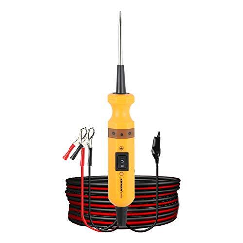 AUTOOL BT-160 Diagnosewerkzeug für Stromkreissysteme 12V / 24V Kfz-Stromkreisprüfgerät Leistungssonde Elektrischer Spannungsintegrierter Leistungsscanner