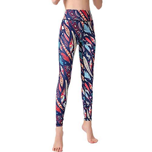 Home's Leggings De Yoga Elásticos para Mujer Pantalones De Yoga De Control De Barriga De Cintura Alta Sin Costuras para Entrenamiento De Gimnasia