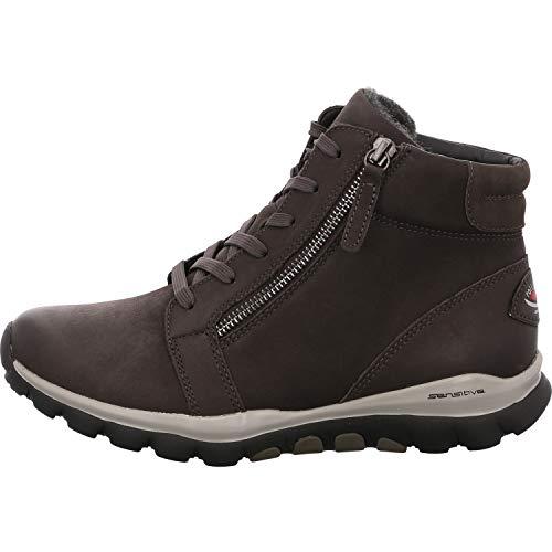 Gabor Shoes Damen Rollingsoft Stiefeletten, Grau (Dark-Grey (Mel.) 39), 38 EU