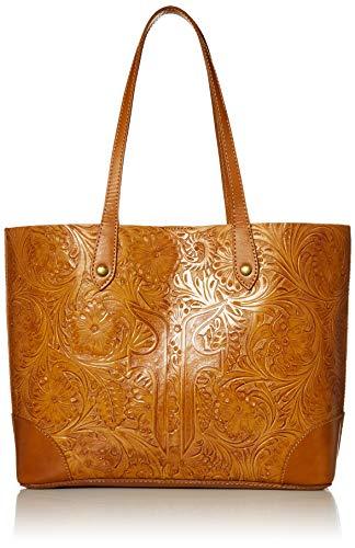 Frye Melissa Artisan Leather Shopper Tote, Cognac