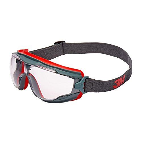 3M GG501SGAF Gafas Panorámicas GOGGLE GEAR 500 ventilación indirecta, PC ocular incoloro, recubrimiento SCOTCHGARD 1 gafa/bolsa