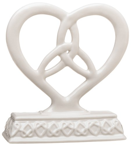 Weddingstar Heart Framed Trinity Knot Cake Top