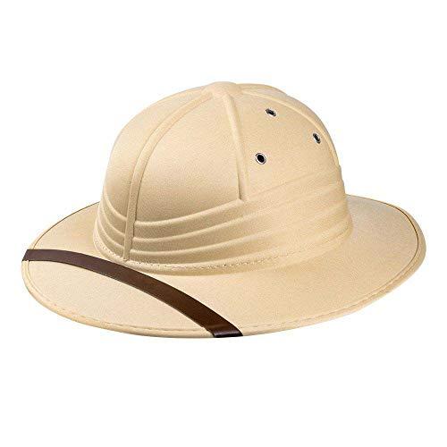 Boland 33005 - Tropenhelm, Dschungel, Safari, Kopfbedeckung, Accessoire, Mottoparty, Karneval