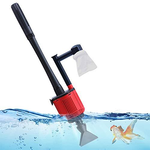 Fish Tank Vacuum Cleaner - Aquarium Gravel Cleaner...