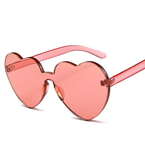 occhiali da sole Sunglasses Occhiali Da Sole A Forma Di Cuore Da Donna Occhiali Da Sole In Plastica Color Caramella Occhiali Da Sole In Plastica Classic Vintage Feminino Redwine