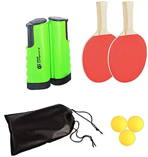 FOOING Juego de ping pong, color verde